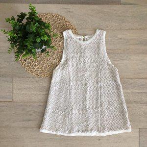 💸💸Anthropologie Textured Pattern Sleeveless Top